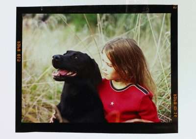 Girl with dog © Yvonne van Leeuwen