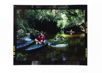 Oparara river kayaking ©Yvonne van Leeuwen